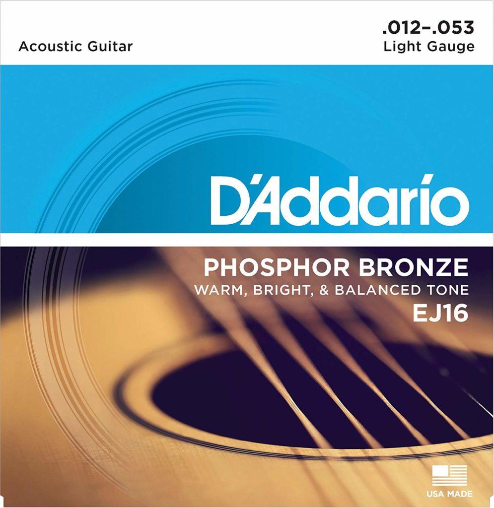 D'Addario EJ16 Phosphor Bronze
